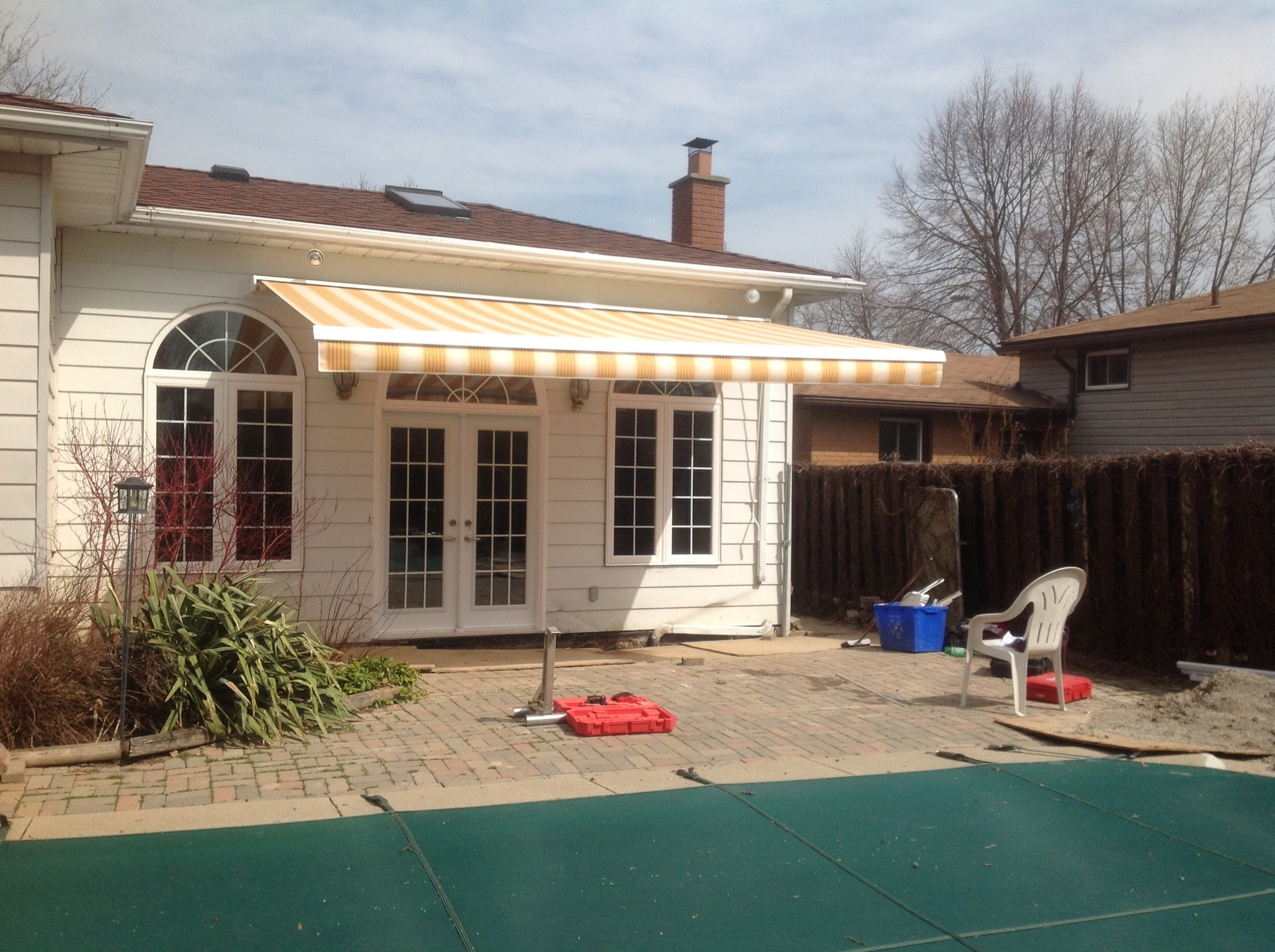 Retractible Awning