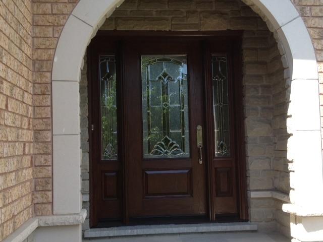 Fibreglass Door with Sidelites