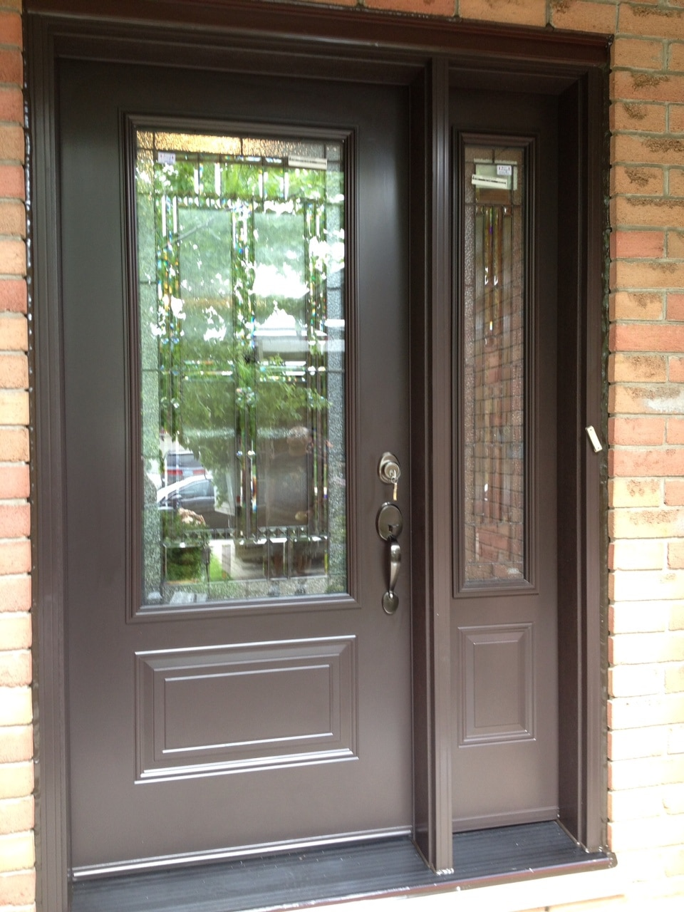 Steel Door with Sidelite